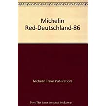 Michelin Red-Deutschland-86