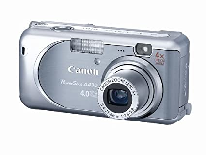 amazon com canon powershot a430 4mp digital camera with 4x optical rh amazon com A340 Aircraft