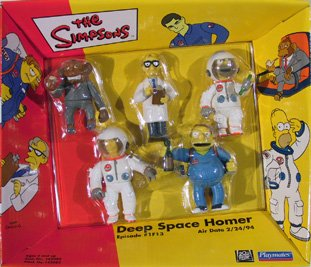 Simpsons Mini Figures Deep Space Episodic Figures by AFLOT-TOY-DPSPCHMR-043377420828-N - Simpsons Mini Figures