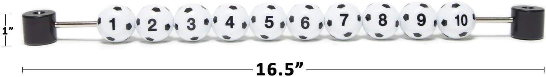 Soccer Ball Style Foosball Scoring Units for Foosball Games Set of 2 Foosball Score Counter /& Foosball Score Keeper