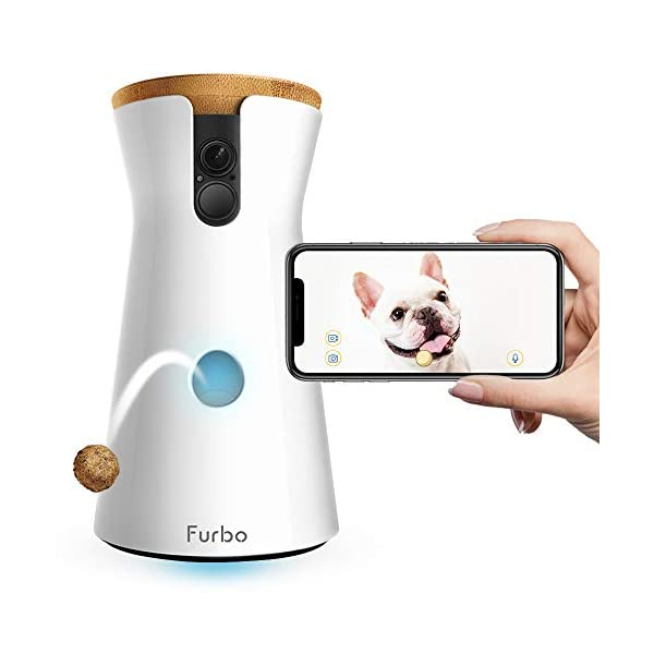 Furbo Dog Camera: Treat Tossing, Full HD Wifi Pet Camera and 2-Way Audio, Designed for Dogs, Compatible with Alexa (As… 1