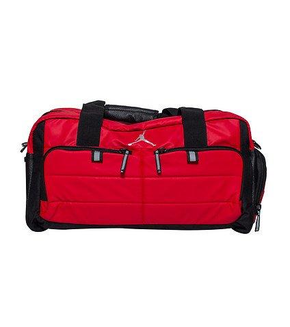 c51b62ecf5a3c8 Nike AIR JORDAN JUMPMAN All World Sport Duffel Bag (Red)  Amazon.co.uk   Sports   Outdoors