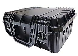 Case Club Waterproof 5 Pistol Case with Silica Gel
