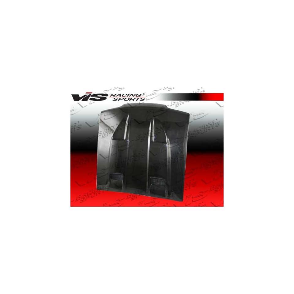 VIS 87 93 Ford Mustang Carbon Fiber Hood MACH 5 88/91