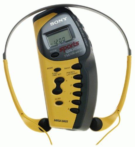 Sony SRF-M73 Sports Walkman AM/FM Stereo with Mega Bass