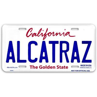 Alcatraz License Plate