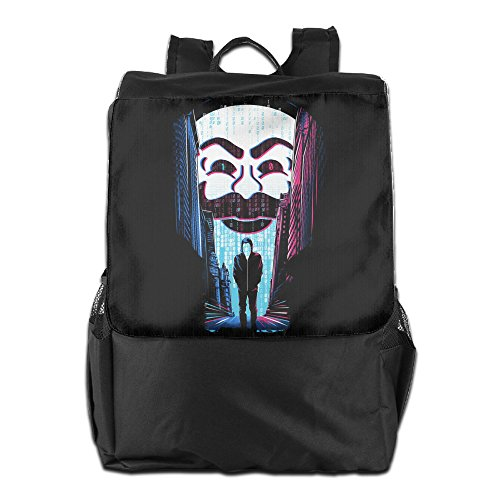 CYANY Mr. Robot A ONE OR A ZERO Shoulder Bags Camping Black Backpack For Men & Women Teens College