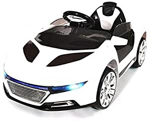 Remote Controlled Racing Audi Style Ride On Car, White