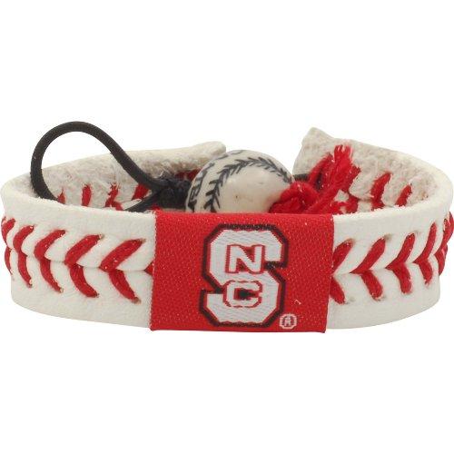 Nc State Wolfpack Baseball - GameWear NC State Wolfpack Classic Baseball Bracelet