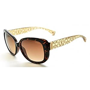 Coach HC8076 L067 Laurin Sunglasses 515213 Dark Tortoise/Brown Crystal Brown Gradient 56 15 135