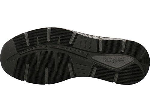 Waldläufer Sneaker bequem Größe 43 Schwarz (Schwarz)