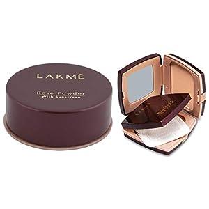 Lakmé Rose Face Powder, Warm Pink, 40g And Lakmé Radiance Complexion Compact Powder, Marble, 9g
