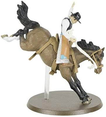 Big Country Toys PRCA Saddle Bronc Bronc Riding /& Rodeo Toy 1:20 Scale Rodeo Figurine