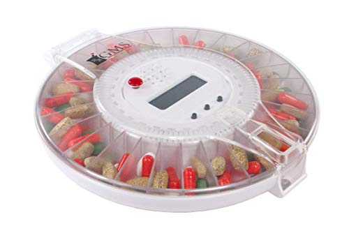 GMS Med-e-lert 28 Day Automatic Pill Dispenser