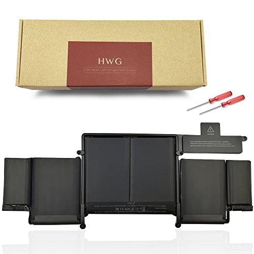 Price comparison product image HWG A1493 Battery Compatible A1502 MacBook Pro 13 inch (Only for Late 2013 Mid 2014 Version),  Fits ME864LL / A ME866LL / A (11.34V 71.8Wh)