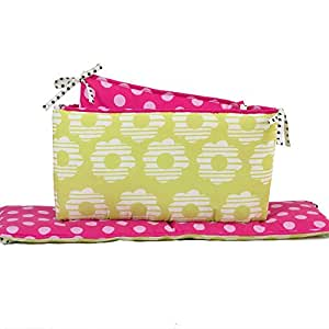Lil Ladybug Baby Crib Bumper by Belle