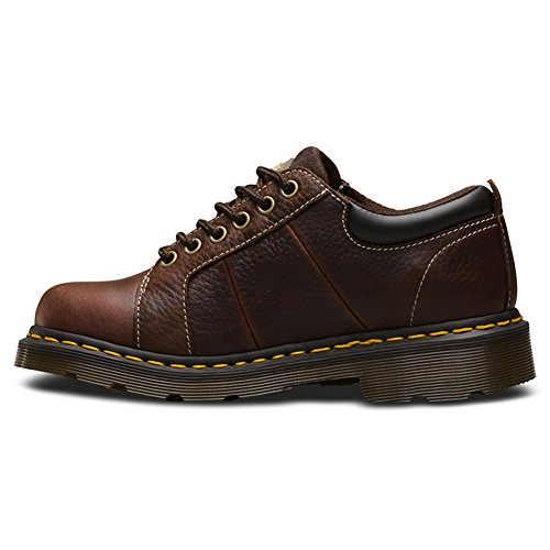 Dr. Martens Women's Mila NS 6 Eye Work Oxfords, Brown, Leather, 6 M UK, 8 M US by Dr. Martens (Image #1)