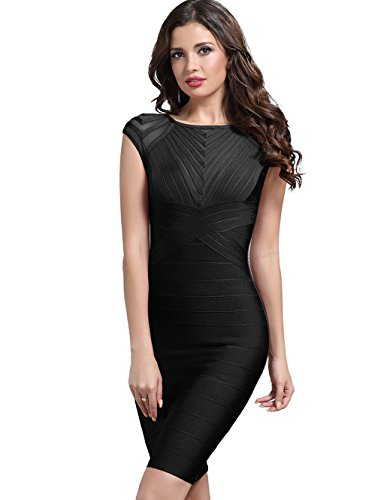 Adyce Nightclub-Dress-Bodycon Skin Tight Bandage-Dress For Women Night Party-Clubwear Wedding US 4/6 by Adyce