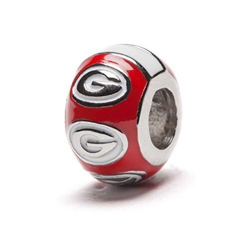Compare Price Georgia Bulldog Charm Bead On