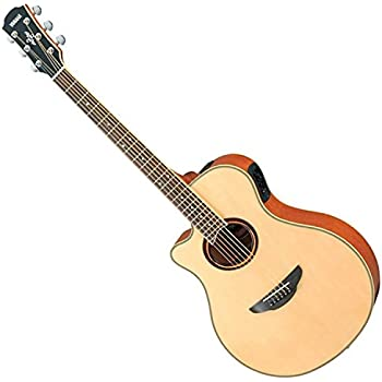 yamaha apx700 acoustic electric guitar natural left handed musical instruments. Black Bedroom Furniture Sets. Home Design Ideas