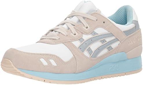 Nacional Ajustarse Fondo verde  ASICS Women's Gel-Lyte III White/Light Grey Ankle-High Fashion Sneaker -  7M: Buy Online at Best Price in UAE - Amazon.ae
