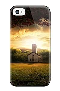 Awesome Church Graphic Art Creative Flip Case With Fashion Design For Iphone 4/4s