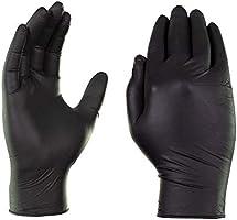 Box of 100 Ultimate Industrial Black-X2 Nitrile Examination Gloves Powder Free