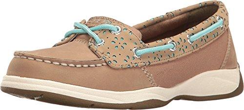 Sperry Top-Sider Kids Girl's Laguna (Little Kid/Big Kid) Greige/Turquoise Shoe