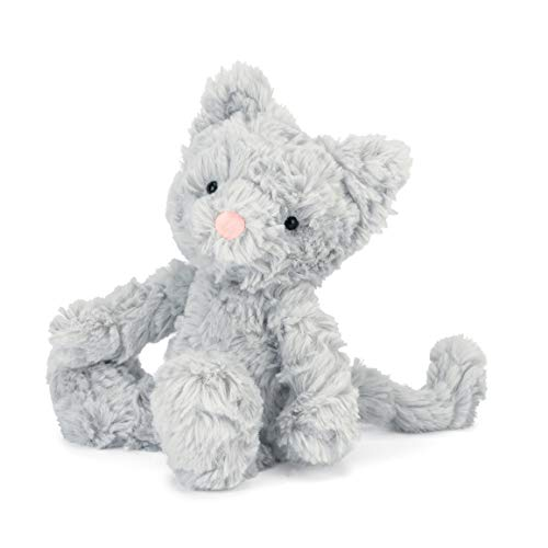 Jellycat Squiggle Kitty Stuffed Animal, Small, 9 ()