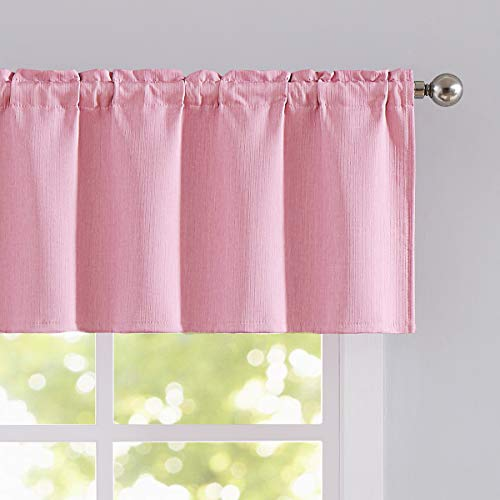 Pink Valance Curtains for Bedroom 18