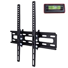 """26"""" - 50"""" (66 lb) LCD/LED/Plasma Double-Arm Wall Mount Bracket with Tilt Functionality (Black) New"""