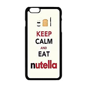 Keep Calm And Eat Nutella Brand New And Custom Hard Case Cover Protector For Iphone 6 Plus