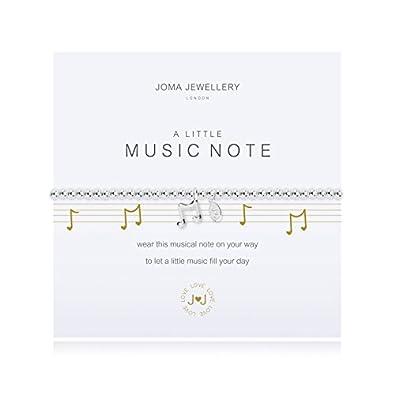 A Little Music Note Silver Bracelet by Joma Jewellery 2Rtzb4Sz
