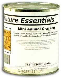 1 Can of Future Essentials Canned Animal Crackers