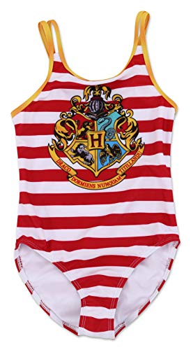 Dreamwave Girls' One Piece Harry Potter Swimsuit 5/6]()