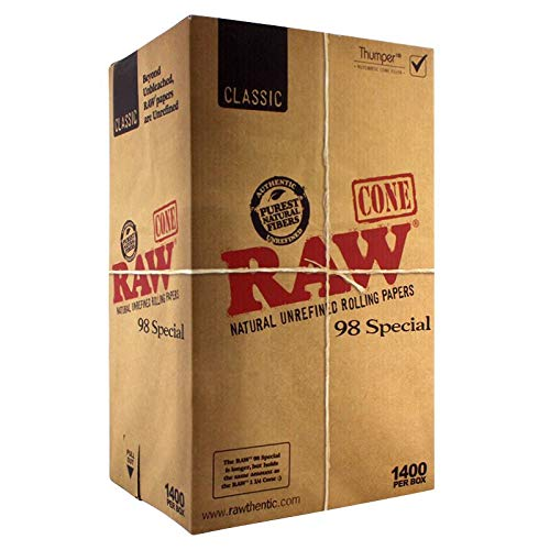 1400 Raw Classic 98 Special Pre Rolled Cones - Includes a TSC Sticker by RAW (Image #4)