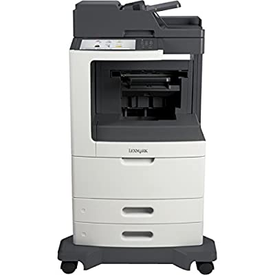 Lexmark 24T7431 MX812DE Laser Multifunction Printer - Monochrome - Plain Paper Print - Desktop - Copier/Fax/Printer/Scanner - 70 ppm Mono Print - 1200 x 1200 dpi Print - 70 cpm Mono Copy - 10.2 i
