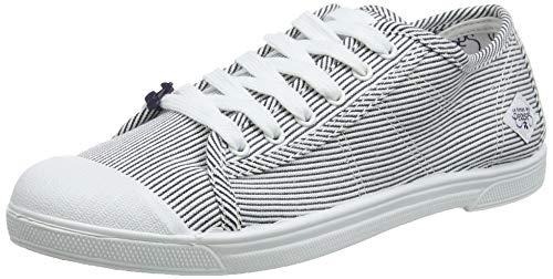 Des Basic Le strip Blu Temps Shinny Strip Cerises Sneaker 02 Shinny Donna 5r5tqfw