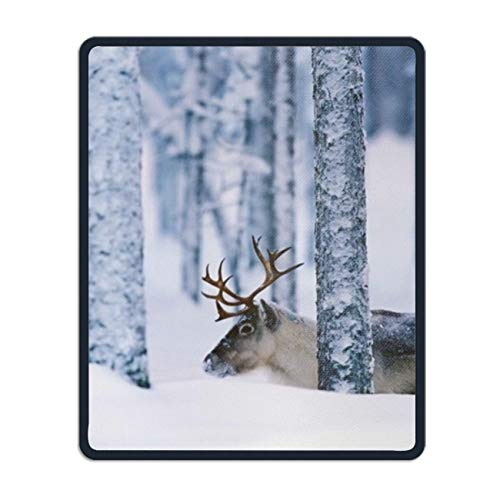 Quality Selection Comfortable Mouse Pad Sweden Reindeer Mouse Mat 8.7 × 7