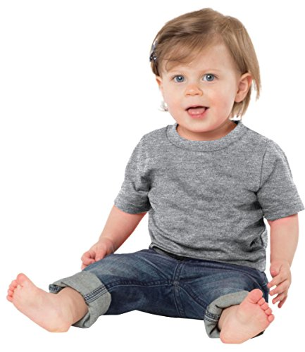 Precious Cargo Infant 5.4-oz 100% Cotton T-Shirt>12M Athletic Heather CAR54I (Precious New Cargo)