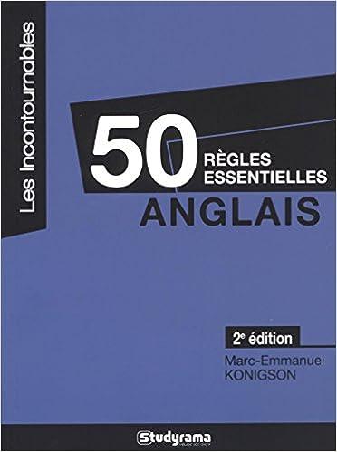 Livre Anglais : 50 règles essentielles pdf epub