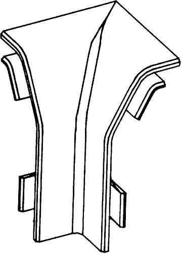 Rehau Elektro.Inst. SL Inneneck SL IE200500 cws 20/50 cws SL; SL 50; SL-L 50 Inneneck fü r Sockelleistenkanal 4007360331160 17256681150
