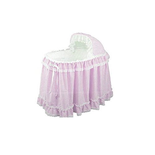 - Babydoll Gingham Liner/Skirt and Hood, Pink, 17