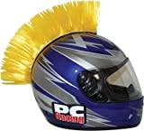 Pc Racing Helmet Mohawks Yellow Velcro