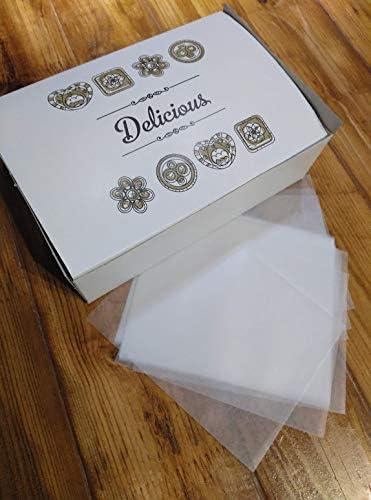 Caja para Mantecados o Galletas con Papel Parafinado para su ...
