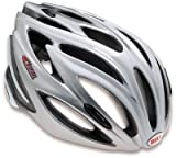 Bell Ghisallo Bike Helmet (Silver/White, Small) For Sale