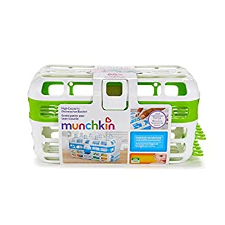 Munchkin High Capacity Dishwasher Basket, Assorted Colors