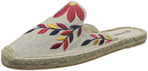 Soludos Women's Embroidered Floral Mule