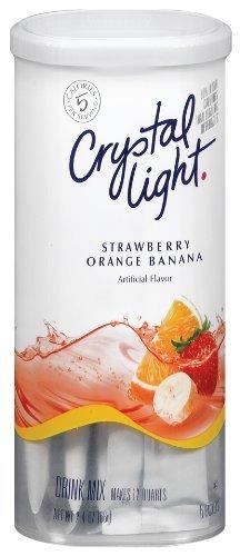 Crystal Light Strawberry Orange Banana, 2.4-Ounce Unit (Pack of 6) (Crystal Light Strawberry Banana)