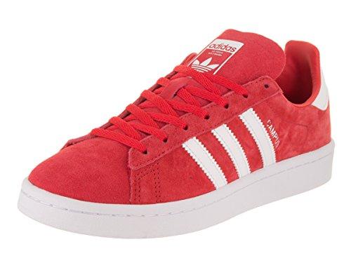 Adidas Originals Women's Campus W, Ray Red/White/White, 6 Medium US
